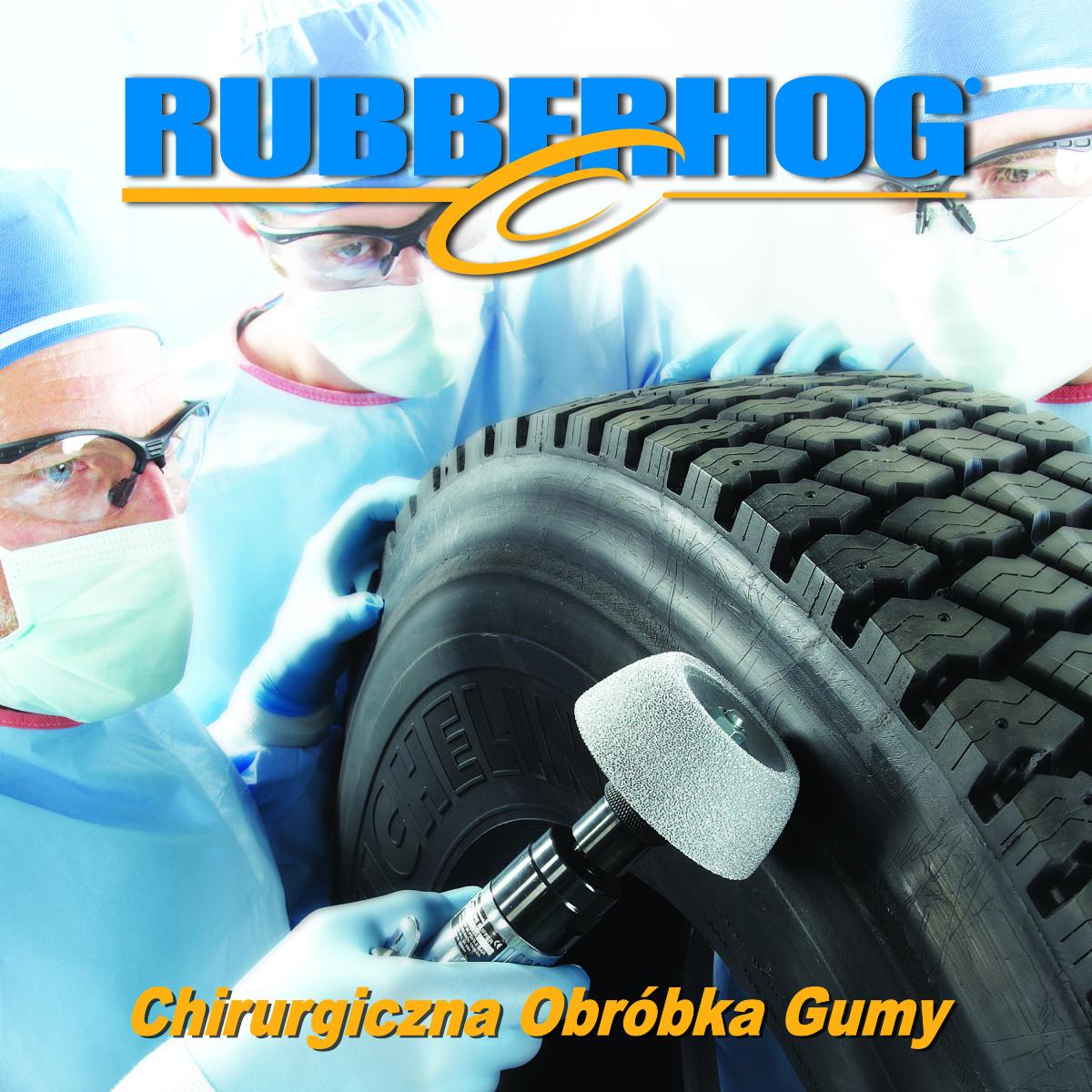 Narzędzia do slzifowania gumy Rubberhog